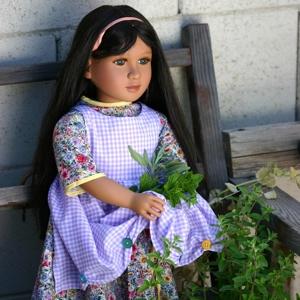 "My Twinn doll ""Katherine"" dress and apron"