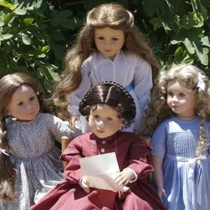 My Twinn doll dresses - Little Women February 2010