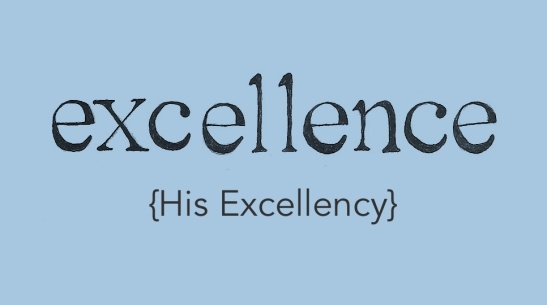 excellenceHisExcellency